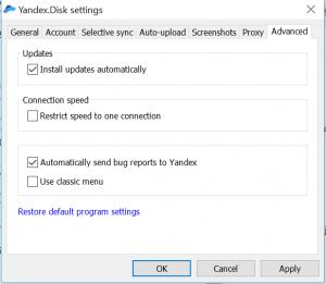 Keine Wolke aus Russland - Yandex.Disk fehlt im c't-Test der Cloud-Speicher-Dienste 13