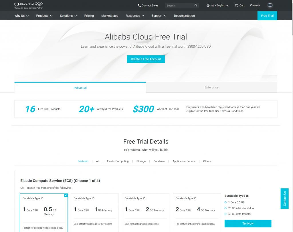 Cloud-Geschichten - Teil 2 - Alibaba und die 40 Services 1