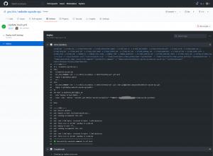 Verteiltes Deployment mit Git und GitHub Actions 4
